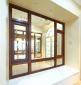 洛克木铝门窗厂 铝木门窗型材厂 铝包木阳光房招商代理